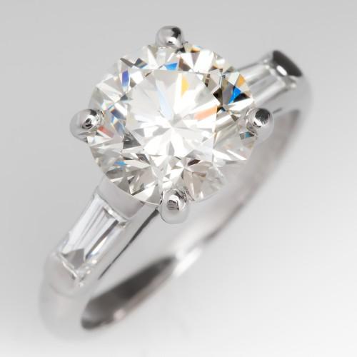 2 Carat Diamond Vintage Bellevue Engagement Ring