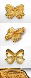 Lalounis Butterfly Brooch