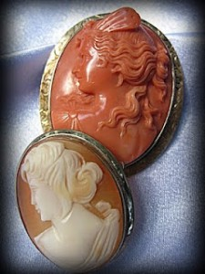 Victorian Style Cameos Photo Source: Blooming Vine's Design Blog