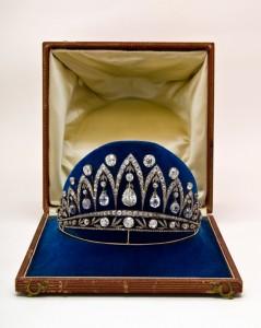 """""""Empress Josephine Tiara"""" (also known as """"The Leuchtenberg Diamond Tiara"""" Photo Copyright Faberge"""