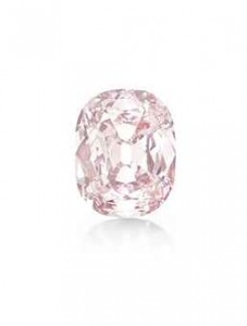 """The Princie Diamond for Sale at Christie's """"New York Magnificent Jewels"""" sale on April 16, 2013. Copyright 2013 Christie's."""