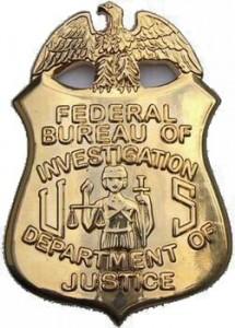 FBI Badge, circa 1935. Photo Credit: Greater Cincinnati Police Museum.