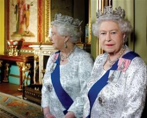 Queen Elizabeth II, 2012. Diamond Jubilee Portrait Sitting. Photo Credit: CAMERA PRESS/John Swannell.