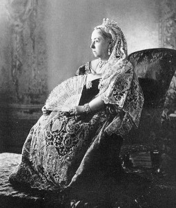 Queen Victoria poses for her Diamond Jubilee in 1897. Photo: Public Domain.