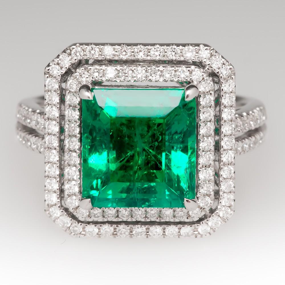 History Amp Characteristics Of Emerald Cut Eragem Post