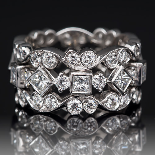 Get The Look With This Diamond Eternity Band By Jack Kelege.