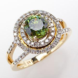 Vintage Demantoid Ring