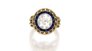 Vintage Cartier Ring. Copyright 2014 Sotheby's.