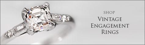 Shop Vintage Engagement Rings