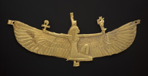 Winged Isis pectoral (538-519 BC). Harvard University--Boston Museum of Fine Arts Expedition. Photograph © Museum of Fine Arts, Boston. Used with permission.