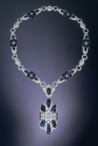 Multi-use Necklace of Actress June Knight, late 1930s. Neil Lane Collection. Courtesy, Museum of Fine Arts, Boston.