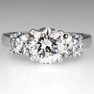 Capture The Essence! Of Miranda Lambertu0027s Engagement Ring With This 2 Carat  Three