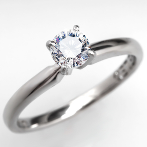 Capture the Essence! of Mila Kunis' Engagement Ring with this Excellent-Cut Diamond Solitaire Engagement Ring. Photo ©2014 EraGem Jewelry.