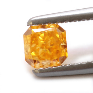 Fancy Vivid Yellow Orange Diamond by Leibish & Co. Photo Credit: Flickr under CC License.
