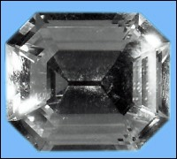 The Krupp Diamond was recovered by the FBI in 1959, in a Las Vegas heist carried out by four gunmen. This is a photo of a replica of the famous diamond from the FBI's website.
