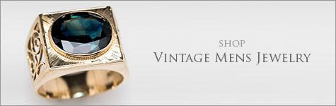 Shop Mens Vintage Jewelry