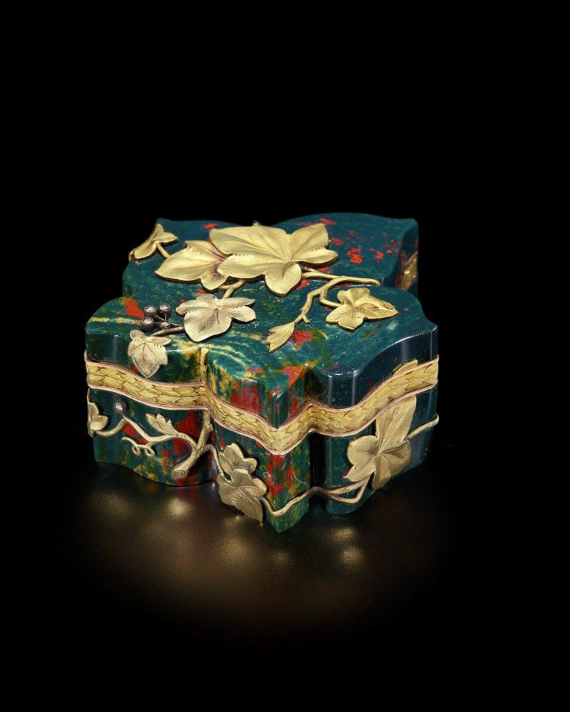 Faberge Leaf Box Hillwood Museum