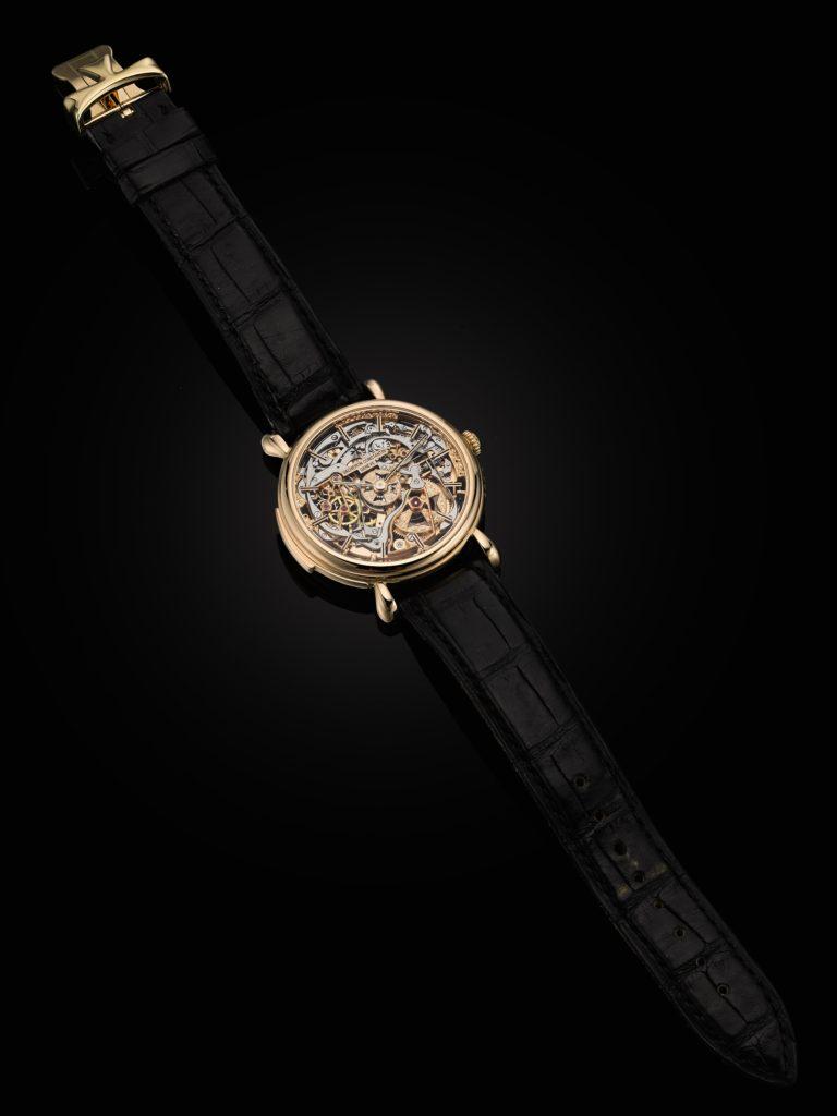 A Vacheron Constantin Skeletonized Wrist Watch