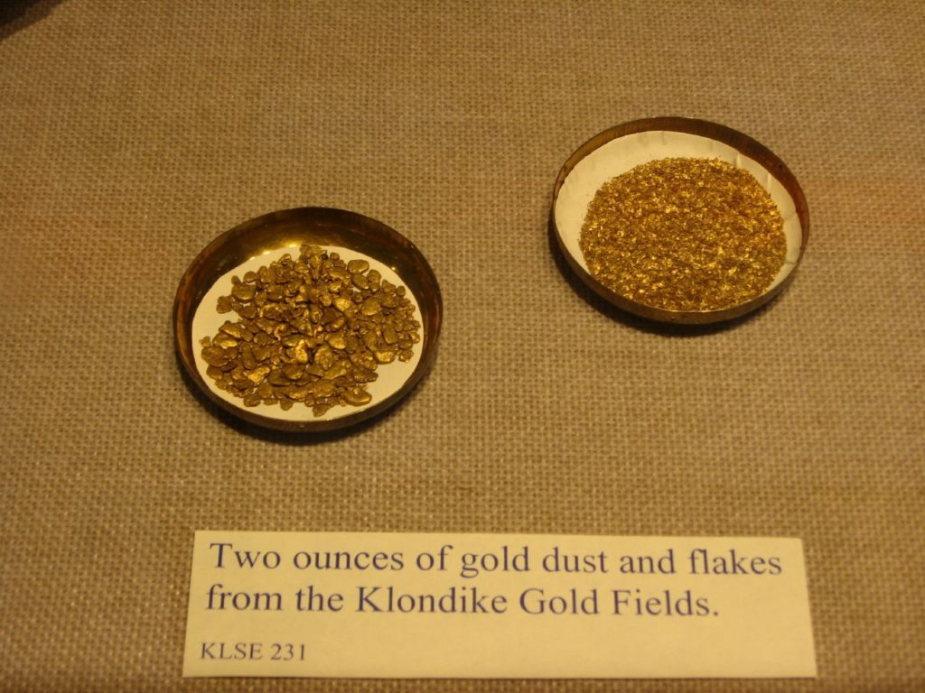 Exhibition at the Klondike Gold Rush Museum in Seattle.