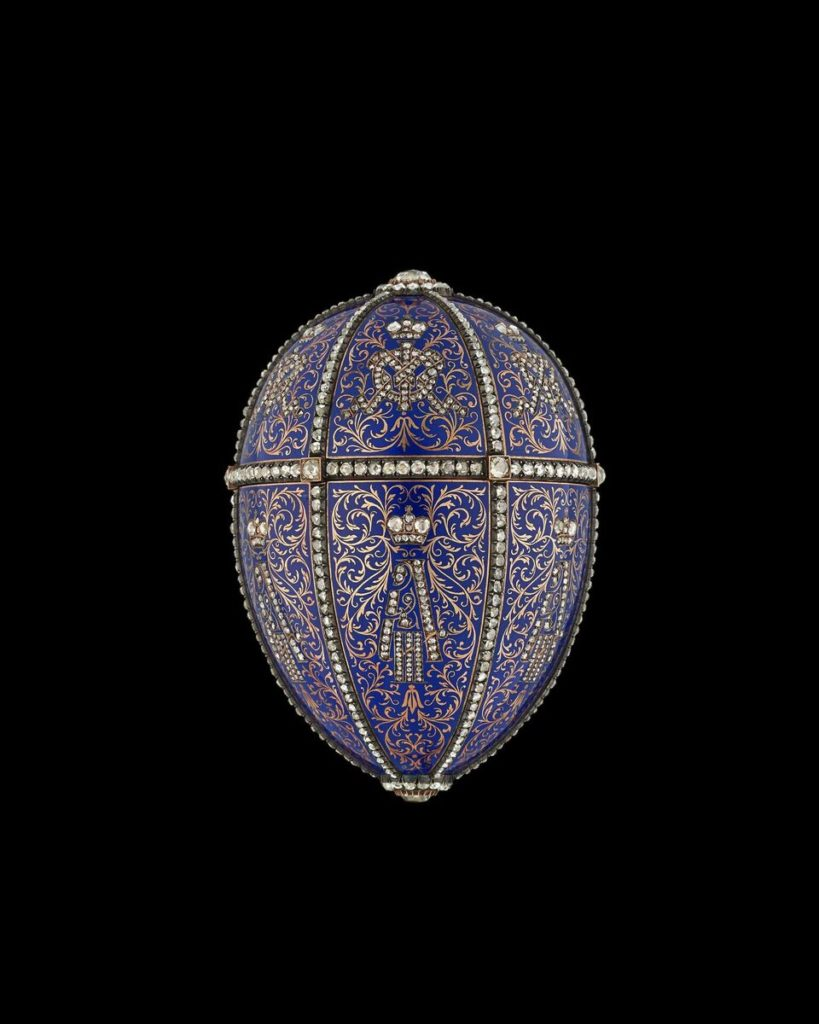 Twelve Monogram Egg by Faberge, 1896