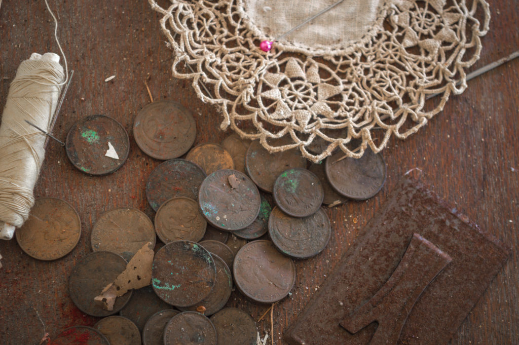 German betrothal customs include a woman's penny collection to buy her wedding shoes