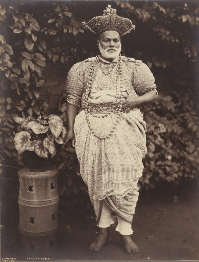 Photo of Kandyan Chief of the Jeweled Isle